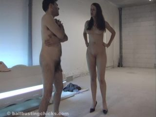 Ball Busting Chicks - Rose - Naked Ballbusting!!!