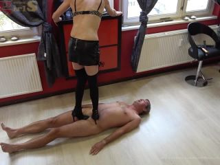 Bad Girls Ttramples With High Heels