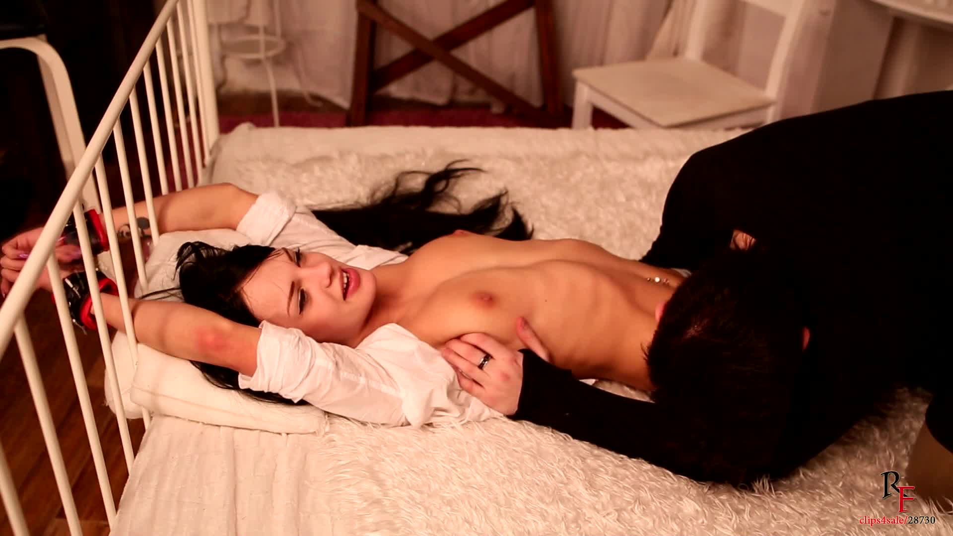 Tickle Torture Tied Girl