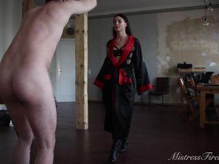 Mistress Firewolf – Ballbusting Endurance Test – Ball Abuse