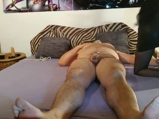 Beth, Joe Kinky – Sexy goth domina smothering her slave