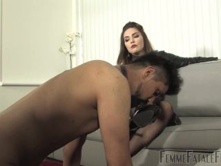 Forced Orgasm – Femme Fatale Films – Weak For Feet – Goddess Dommelia