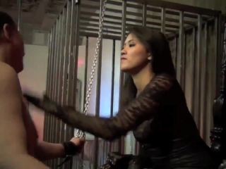 Porn online Bdsm – Asian Cruelty – TRAPPED AND SLAPPED – Goddess Angelina