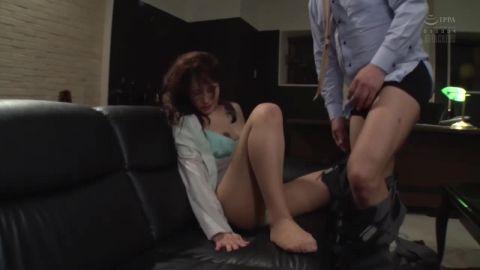 Rinne Touka ATID-376 President Secretary's Wet Pantyhose
