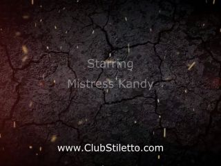 CLUB STILETTO – KANDY'S CAGED FART SNIFFER