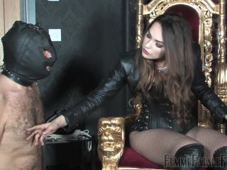Ball Stretching – Femme Fatale Films – Serena's Boot Bitch – Complete Film – Mistress Serena
