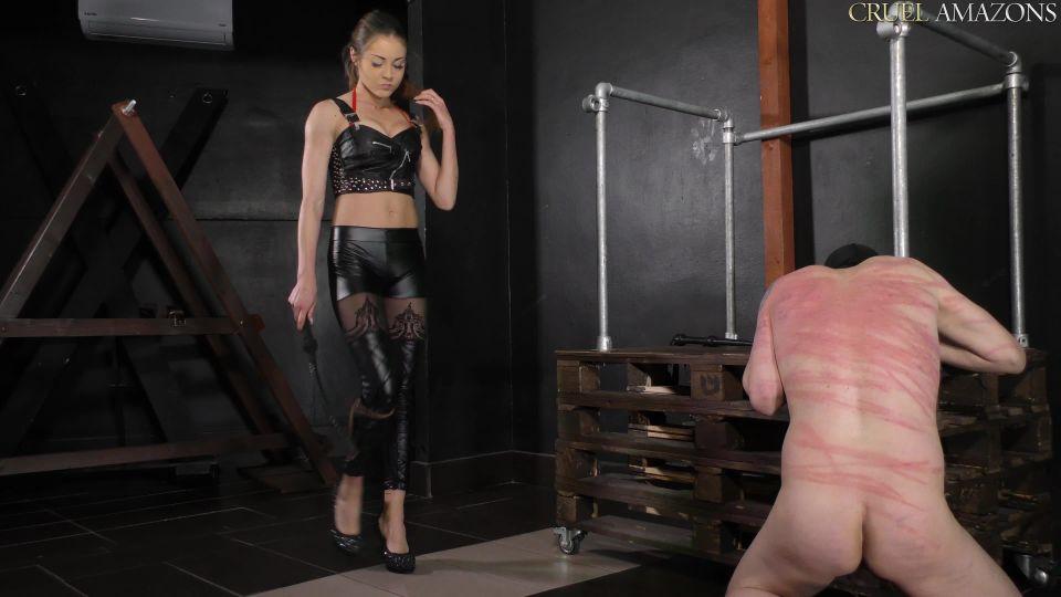Whipping cruel This dominatrix