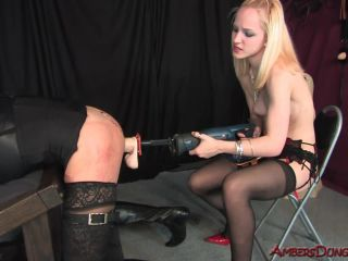Ambersdungeon – Mistress Mika – Blonde Anal Attack