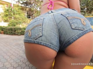 Miami babe skyler luv rides a big black cock