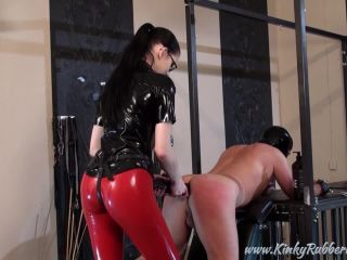 Latex Porn – 7783 – Lady Alsharis Big Black Strap-On
