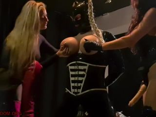 Danish Femdom - Double Domme is Double Fun - Miss D, Miss No 1 - Peggi ...