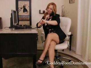 goddess foot domination: intern's interview