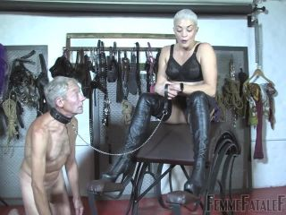 Boot Domination – Femme Fatale Films – Boots For Worship – The Hunteress