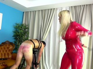 House of Sinn - you will take it for Her - Mistress Tess - Whipping on femdom porn femdom oral
