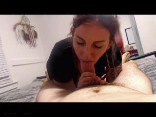 Kelly Payne - Cum down my throat! POV BJ Titty Fuck
