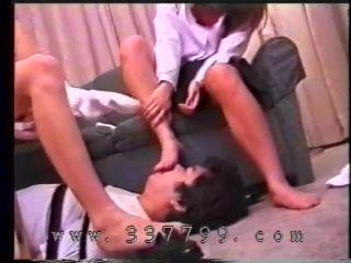 Japanese girls trample