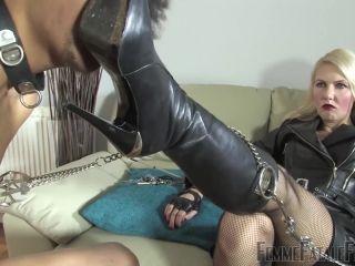 Femme Fatale Films – Akella s Pain Slave – Complete Film. Starring Mistress Akella