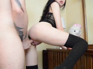 ManyVids Webcams Video presents Girl Lissa Bunny in My First BG Anal Vid