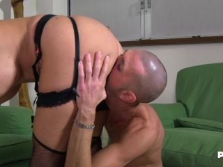 Malena - Two hard cocks for the hot Malena FullHD