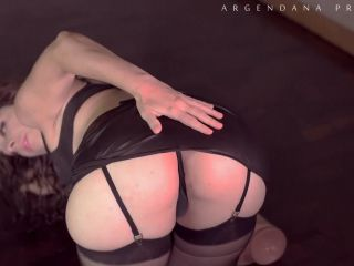 ArgenDana – Fantastic size dildo and plug deeply in ass