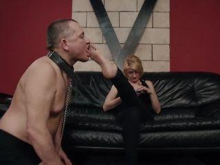 CRUEL PUNISHMENTS  SEVERE FEMDOM  Sole and armpit licking. Starring Mistress Bonnie