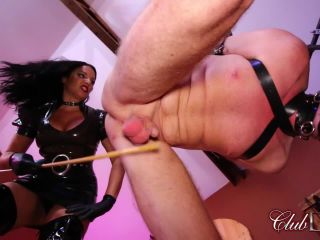 clubdom  michelle lacy  caned as an example  corporal punishment