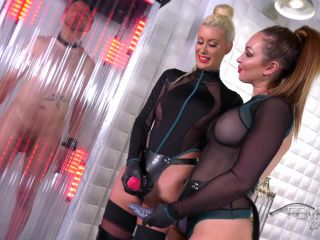Male Strap-on – VICIOUS FEMDOM EMPIRE – Space Clits – Yasmin Scott and Riley Jenner