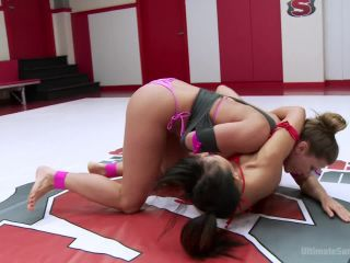Squirting Orgasms! Utter Erotic Wrestling Dominance - Kink  February 12, 2016