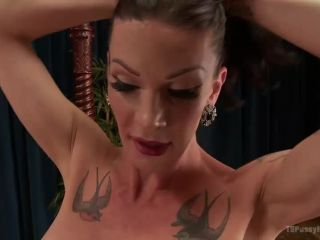 Arabella Raphael takes a hot load of cum in her asshole