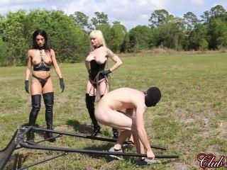 Porn online Cruel Unusual FemDom – ClubDom – Punishing the Runaway Slave (Entire Movie). Starring Goddess Tangent and Dahlia Rain [Whipping] femdom