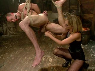 Bitch Boy in a Barn: Lifestyle Dominatrix Abuses and Fucks Slave Boy (November 13, 2013)