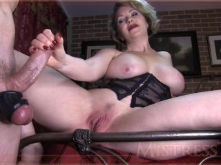 Mistress T - Ruined Orgasm Chastity Release