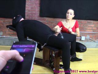 Brat princess 2 - Sasha - Restrained Handjob with Remote Controlled Device (1080 HD)