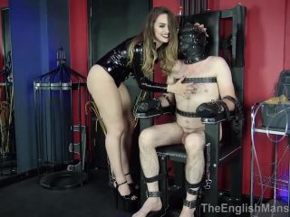 The English Mansion – Goddess Serena – Tormented In The Chair Complete