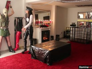 Spread – DOMINA IRA VON MESMER – Instructed and Abused by Kommandant Ira