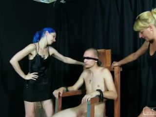 Face Slapping – CRUEL PUNISHMENTS – SEVERE FEMDOM – Painful Interrogation Full Version – Lady Bonnie and Suzy