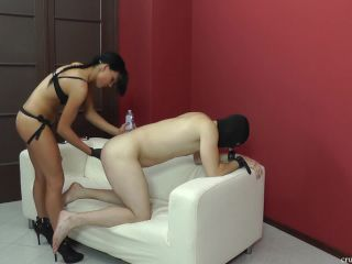 Porn online CRUEL MISTRESSES – Punishment from behind. Starring Mistress Dolores femdom