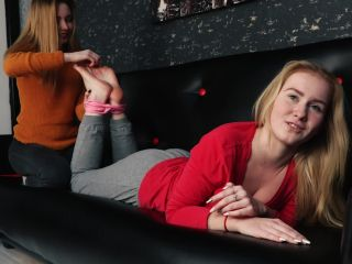 mind control fetish Ticklish girl – Russian Fetish – Classic tickling of two girls + tickling torture by feet, soles tickling on russian
