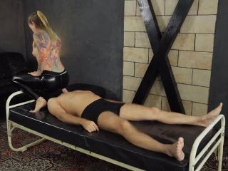 Cruel Anette – Mistress Anette – Firm butt in tight pants – Femdom Smothering