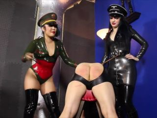 Cybill Troy FemDom Anti-Sex League  Double Cane Thrashing  Starring Mistress An Li and Cybill Troy