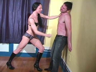 Mistress Trish – After I Kick Your Ass You Are Going to Worship My Muscles