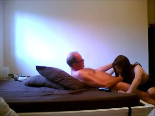 Skinny UK TV Maxine fucked by old daddy