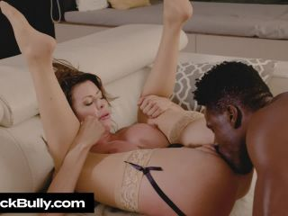 Big Cock Bully - Alexis Fawx gets bullied with a big black cock
