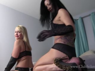 Porn online Club Stiletto FemDom – Double Ass Crush Gets Dicks Dick Hard. Starring Miss Jasmine and Mistress Kandy femdom