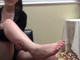 liliths first footjob  first time foot girls