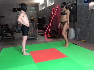 Mistress Gaia – Beetle Juice (1080 HD) – Mixed Wrestling – Femdom, Forced Male Orgasm, alex grey foot fetish on fetish porn