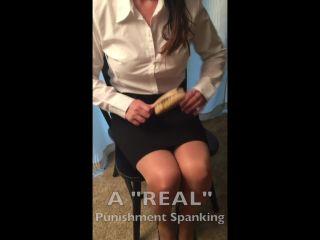 Porn online Miss Jenn D - A Real Punishment Spanking femdom
