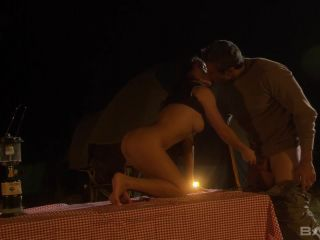 Mya Luanna Gets Pounded By An Older Man On The Mountain At Night
