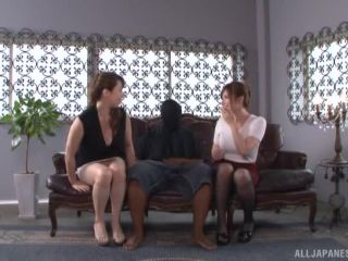 Awesome Yumi Kazama and Azumi Chino in a threesome fun Video Online
