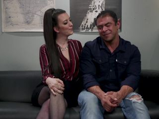 bdsm mask brunette girls porn | Office Boy Cherry Torn's New Stupid Beefy Boy Toy | brunette